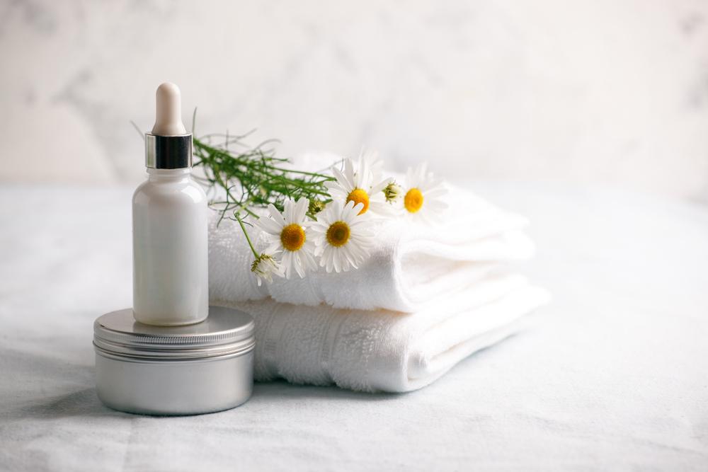 Camomilla e beauty routine