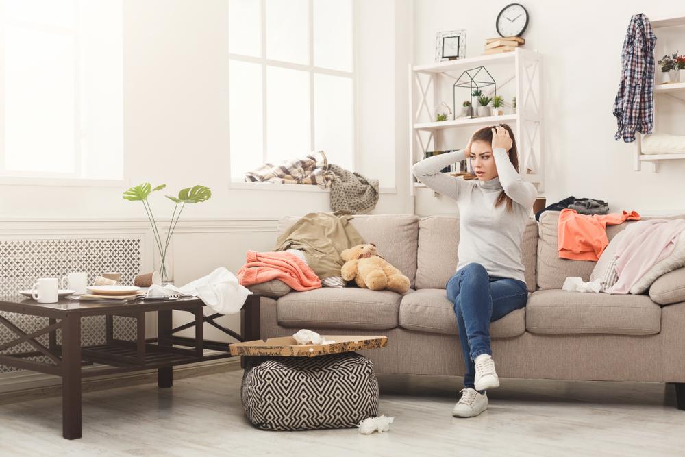 Una casa ingombra è fonte di stress!