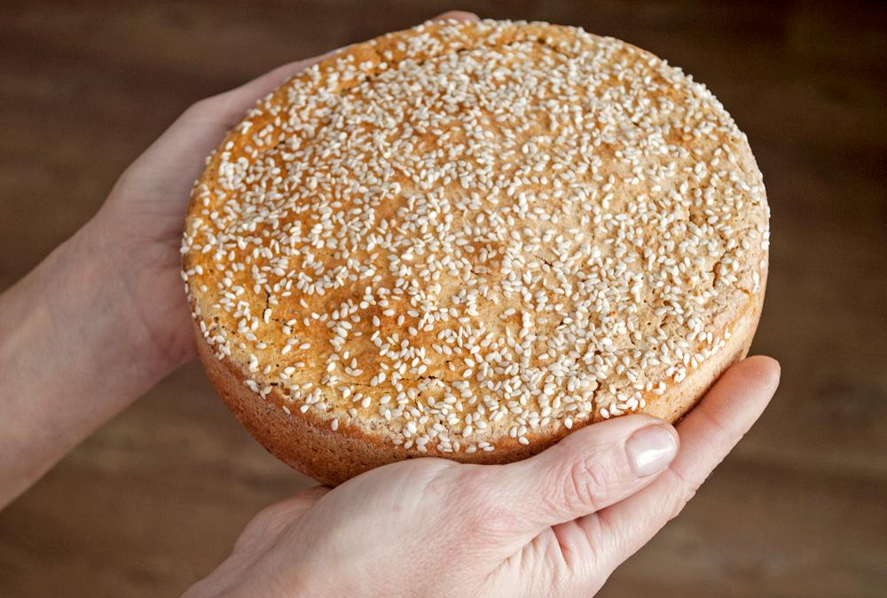 Pane ottenuto dall'amido di riso