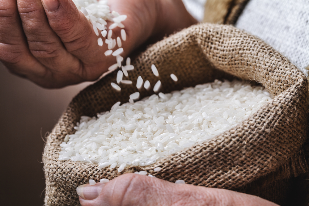 Un benefico estratto del riso