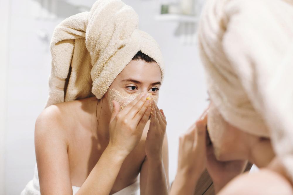 L'applicazione dello scrub