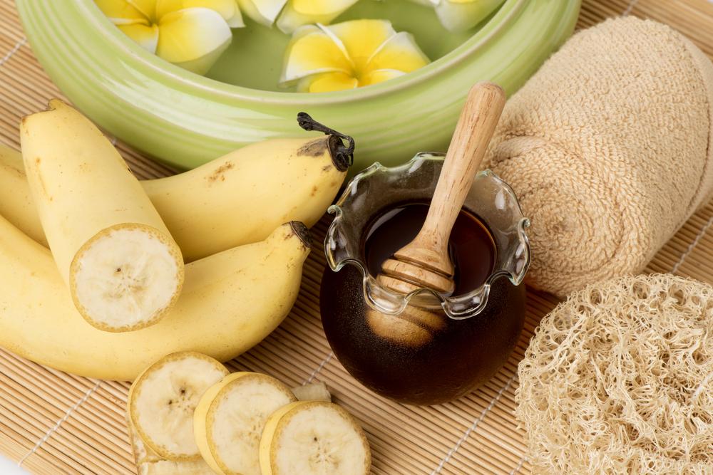 Scrub banana e miele